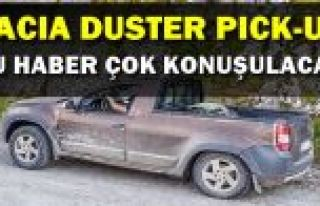 Dacia Duster'a pick-up versiyon mu geliyor?